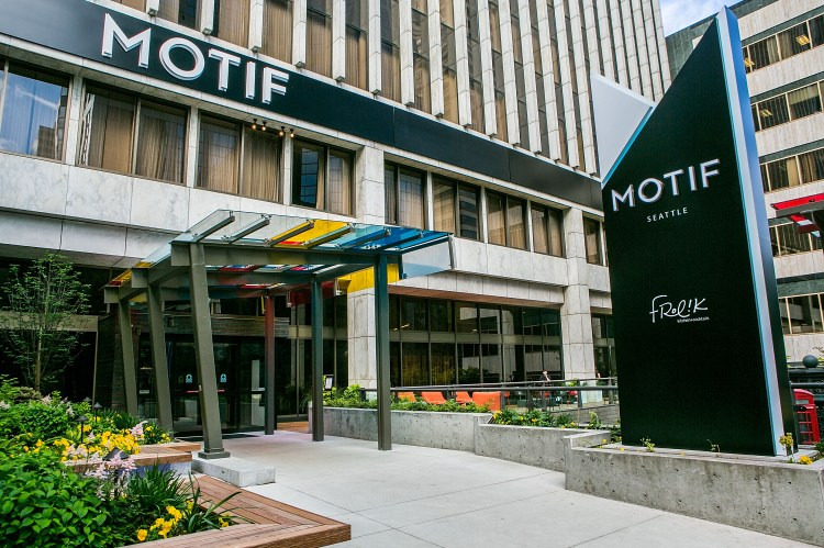 Motif Seattle hotel photography