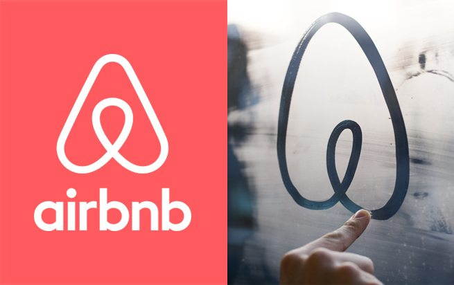 New Airbnb logo