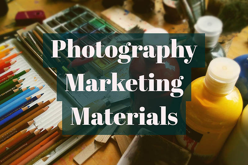 Photography Marketing Materials