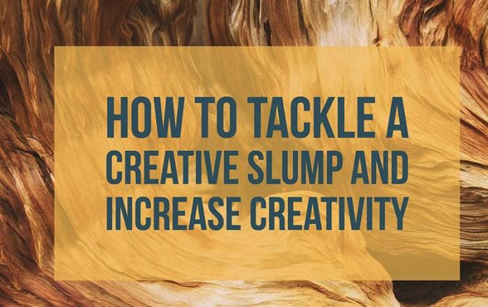 Creative slump