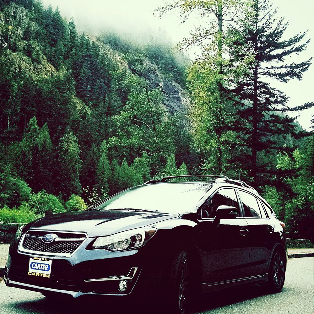 Subaru Impreza Sport hatchback car