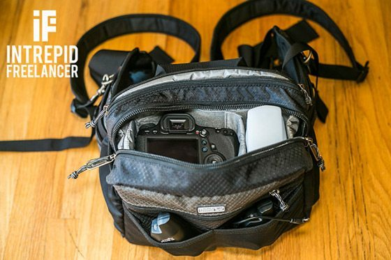 Think Tank Change Up BeltPack ergonomic travel camera bag
