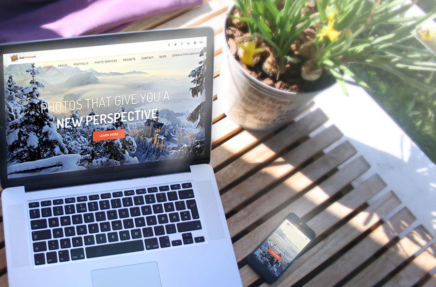 how to build a photography portfolio website