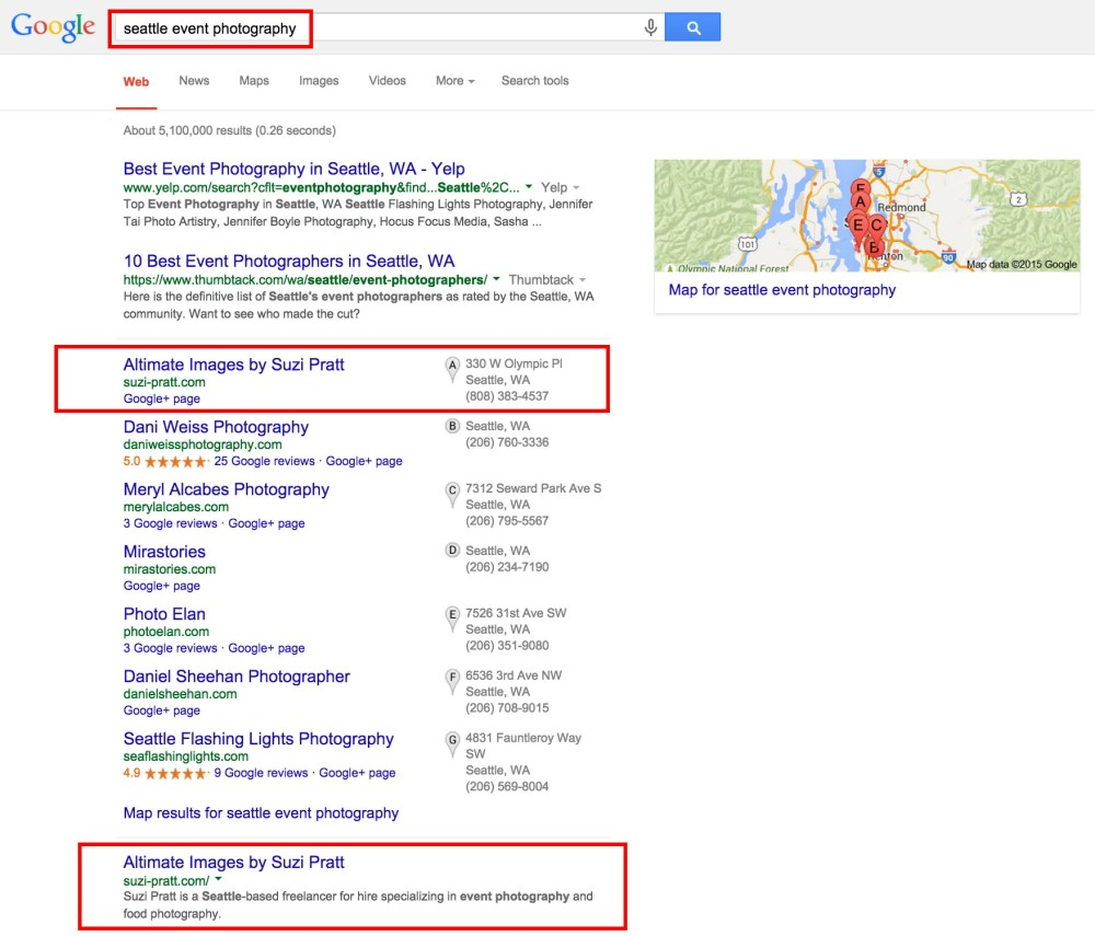 Google Search Results SEO tips
