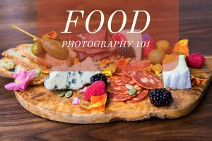Food photography gear and tips