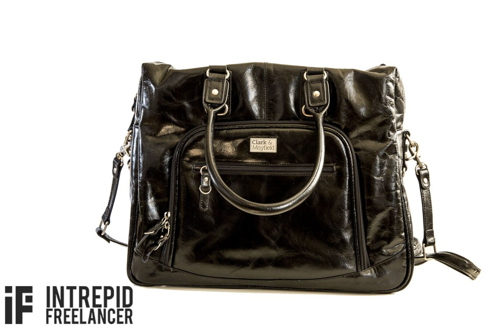 womens leather laptop bag