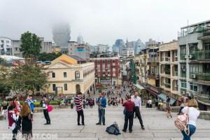 Ruins of St Paul Macau travel photography