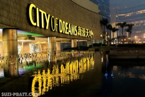 City of Dreams Macau travel photography