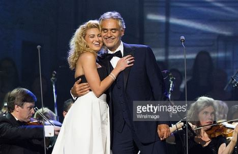 Tori Kelly and Andrea Bocelli