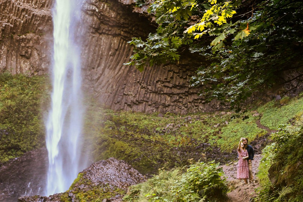 Latourell Waterfall Oregon