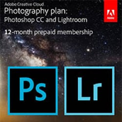 Adobe Creative Cloud photo editing software