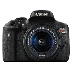 Canon T6i food photography camera