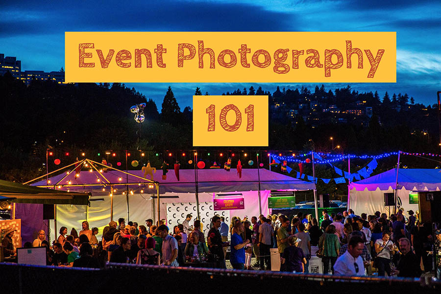 Event photography 101