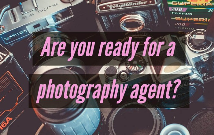 Find photography agent