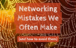 Networking Mistakes