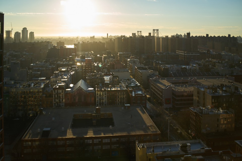 New York, Lower Eeast Side looking towards Brooklyn / Williamsburg 2016. Sony RX1R II (Click for 2048 widest side image)