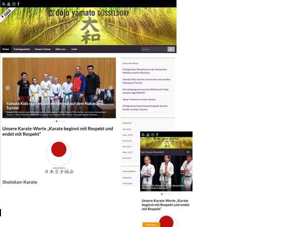 Yamato Düsseldorf Homepage