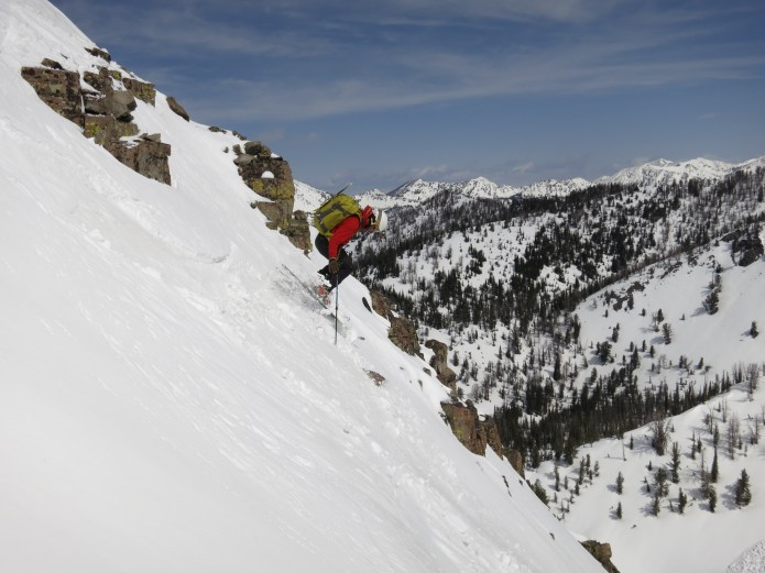 Spring skiing in Idaho with Sun Valley Trekking.
