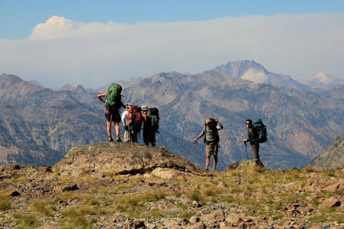 Wild Gift backpacking in the Boulder and White Cloud Mountains of Idaho