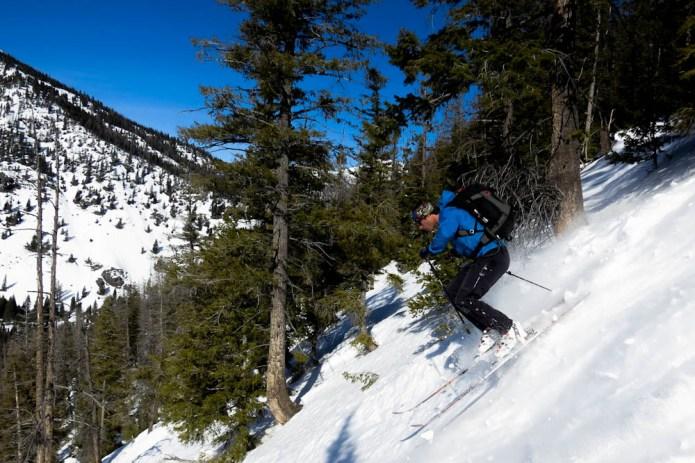 powder skiing idaho backcountry sun valley trekking