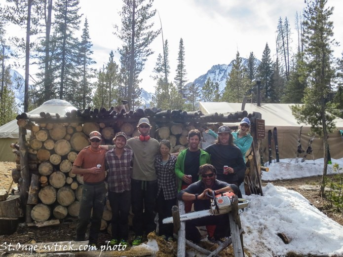 What we were really doing up at the Sawtooth Huts