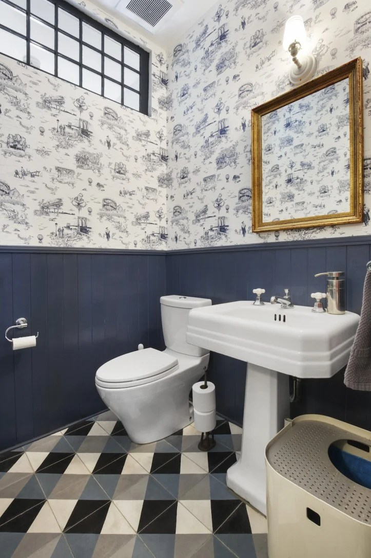 9 Smart And Stylish Ways To Use Wallpaper In Your Bathroom
