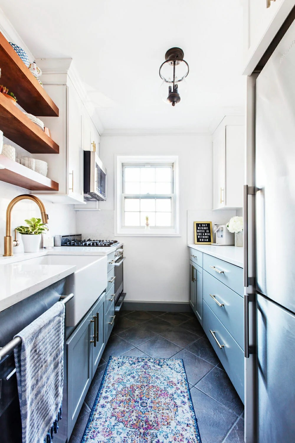 Why a Galley Kitchen Rules in Small Kitchen Design on Kitchen Renovation Ideas  id=16980