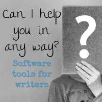 Can I help you in any way? Software tools for writers