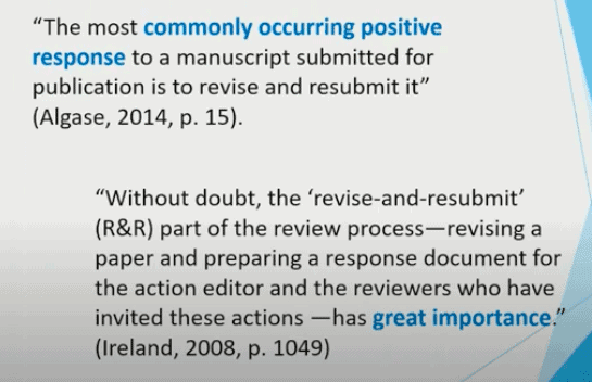 Quotes regarding an R&R decision