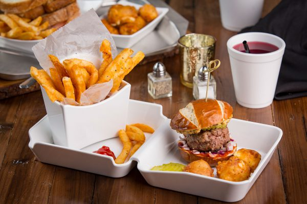 Better Burger Burger and Fry Boxes