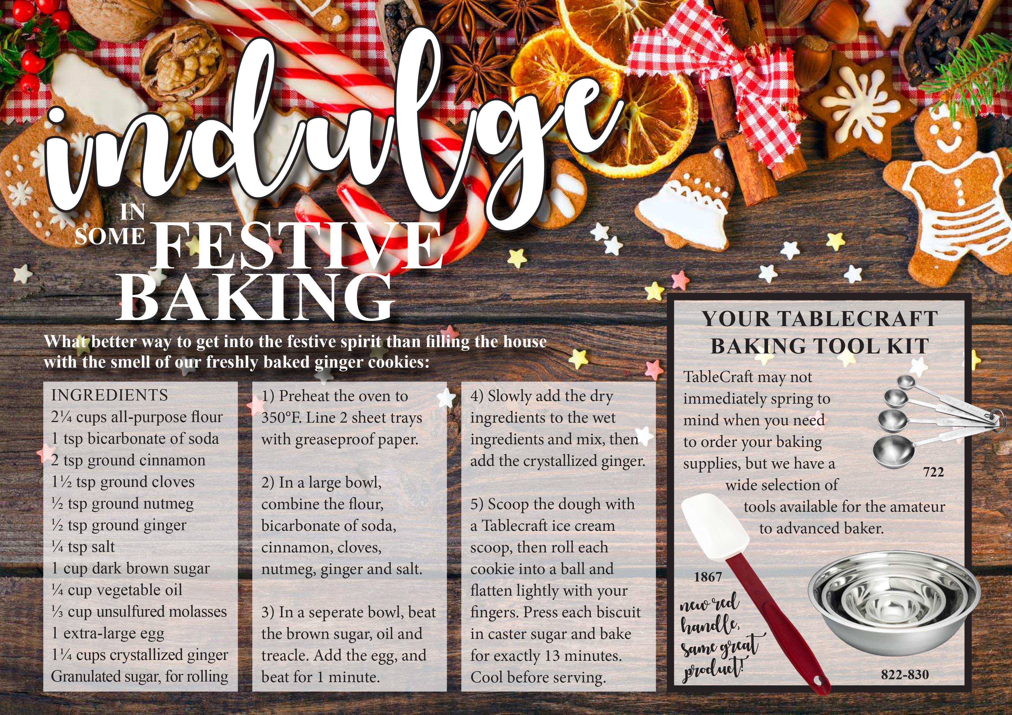 indulge in some festive baking