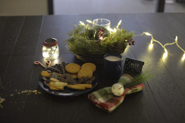 Santa TableCraft Table Set Up Christmas 2019