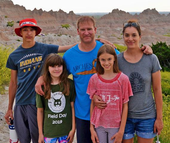 Bonnie and family meet tablecraft staff spotlight