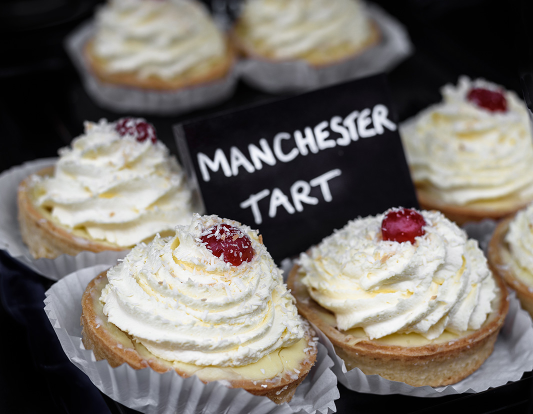 Traditional Manchester tarts for sale