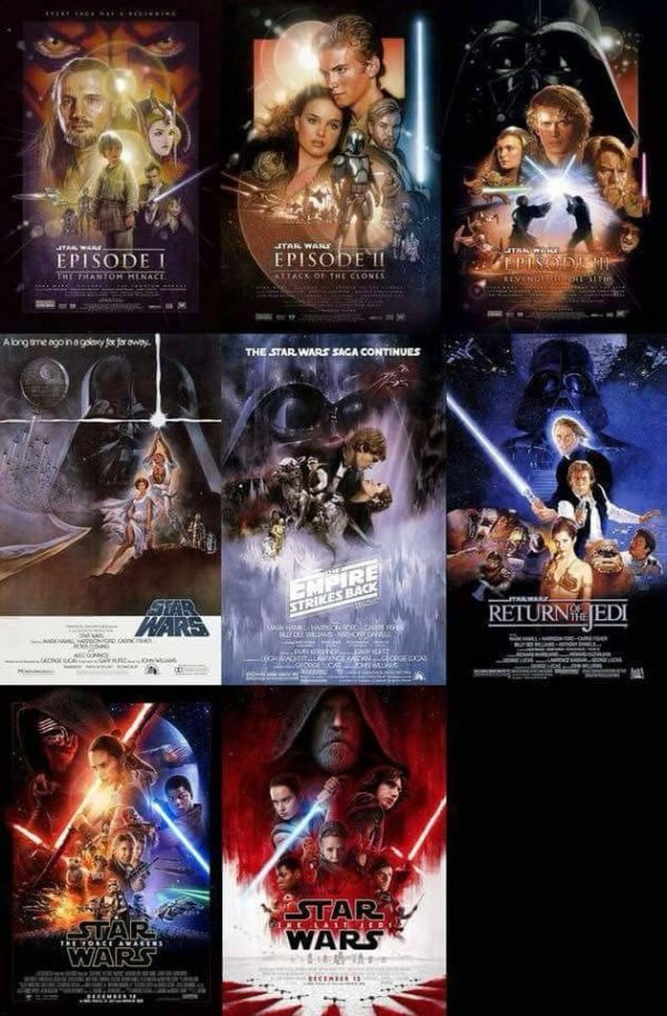 star wars posters