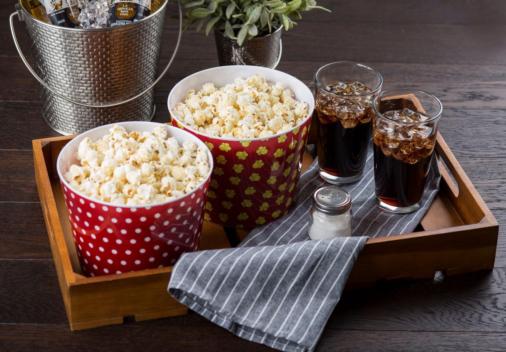 Popcorn Tubs for Movie Nite
