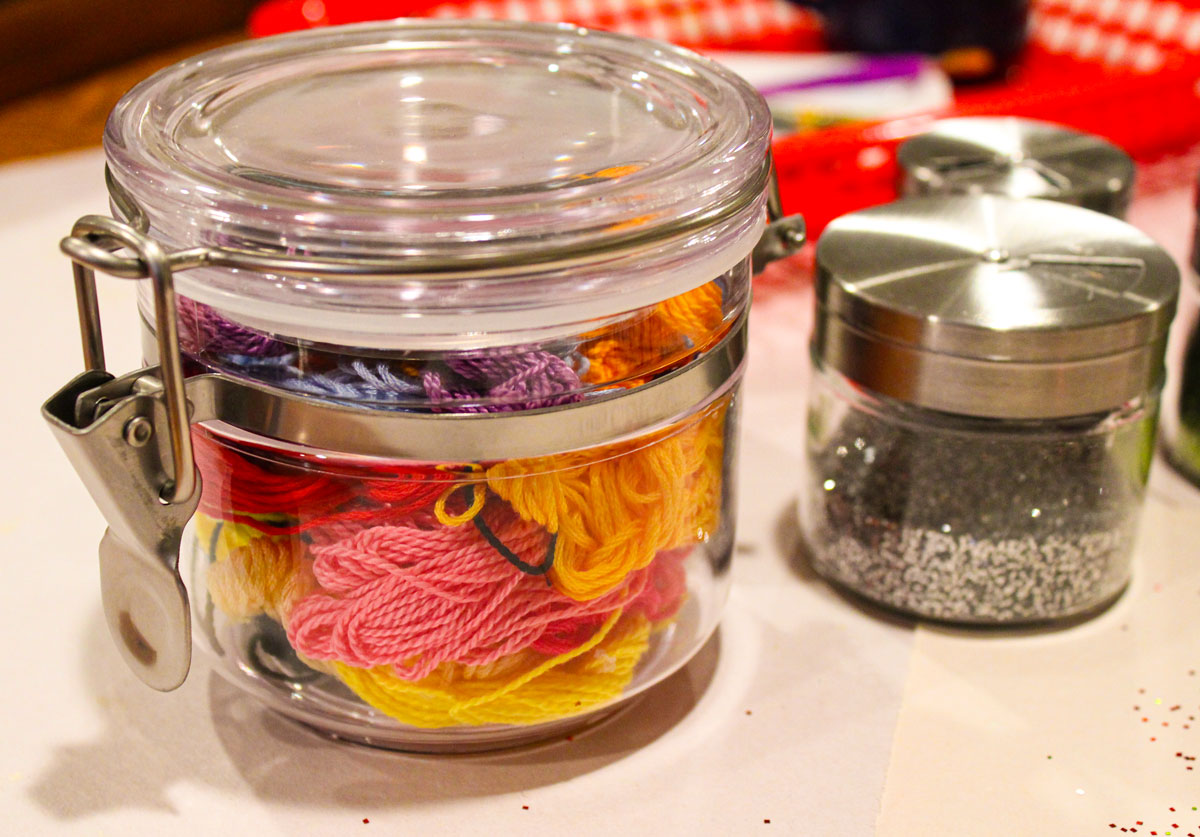 Floss in a jar for OSTB