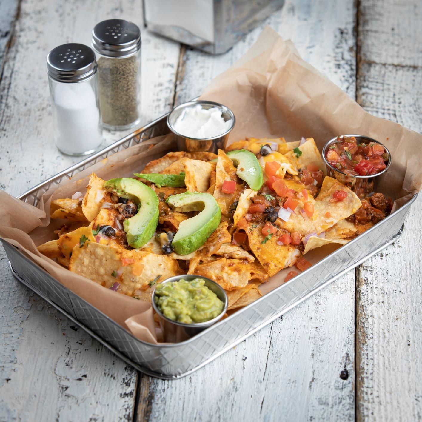 Lattice collection trays nacho 10039