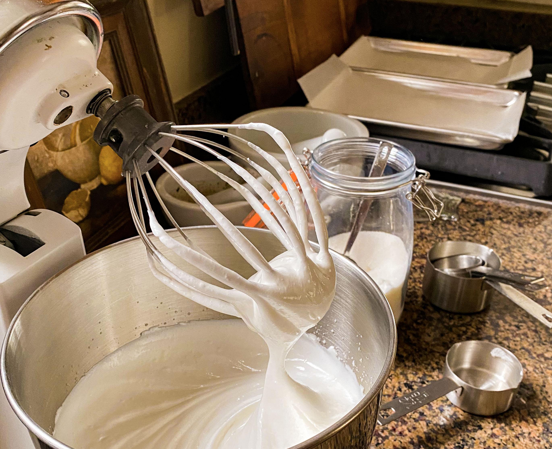 meringue recipe from TableCraft in the kitchen