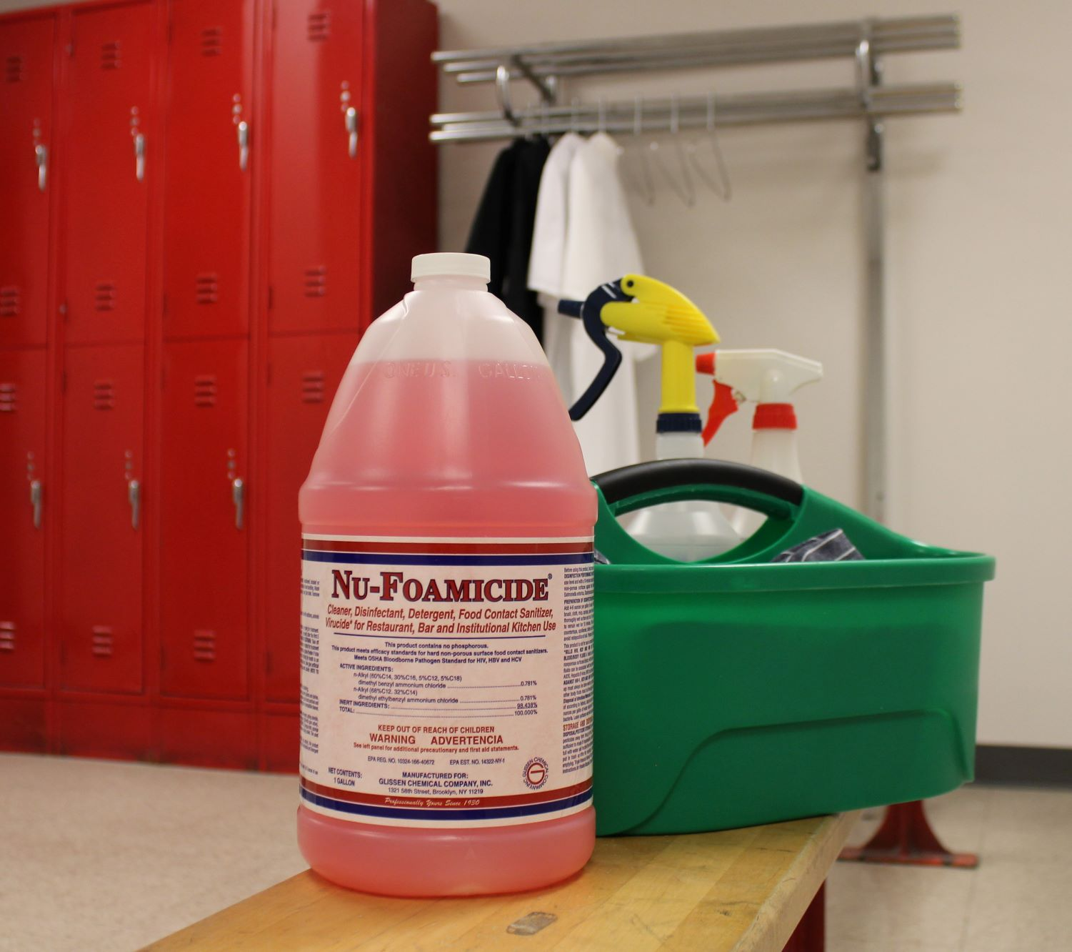 NuFoamicide Cleaner from TableCraft