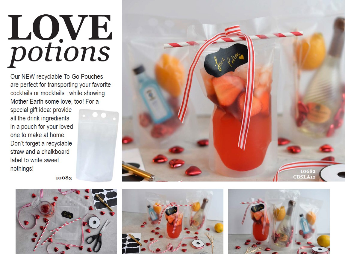 Love potions in our to go pouches from tablecraft fs
