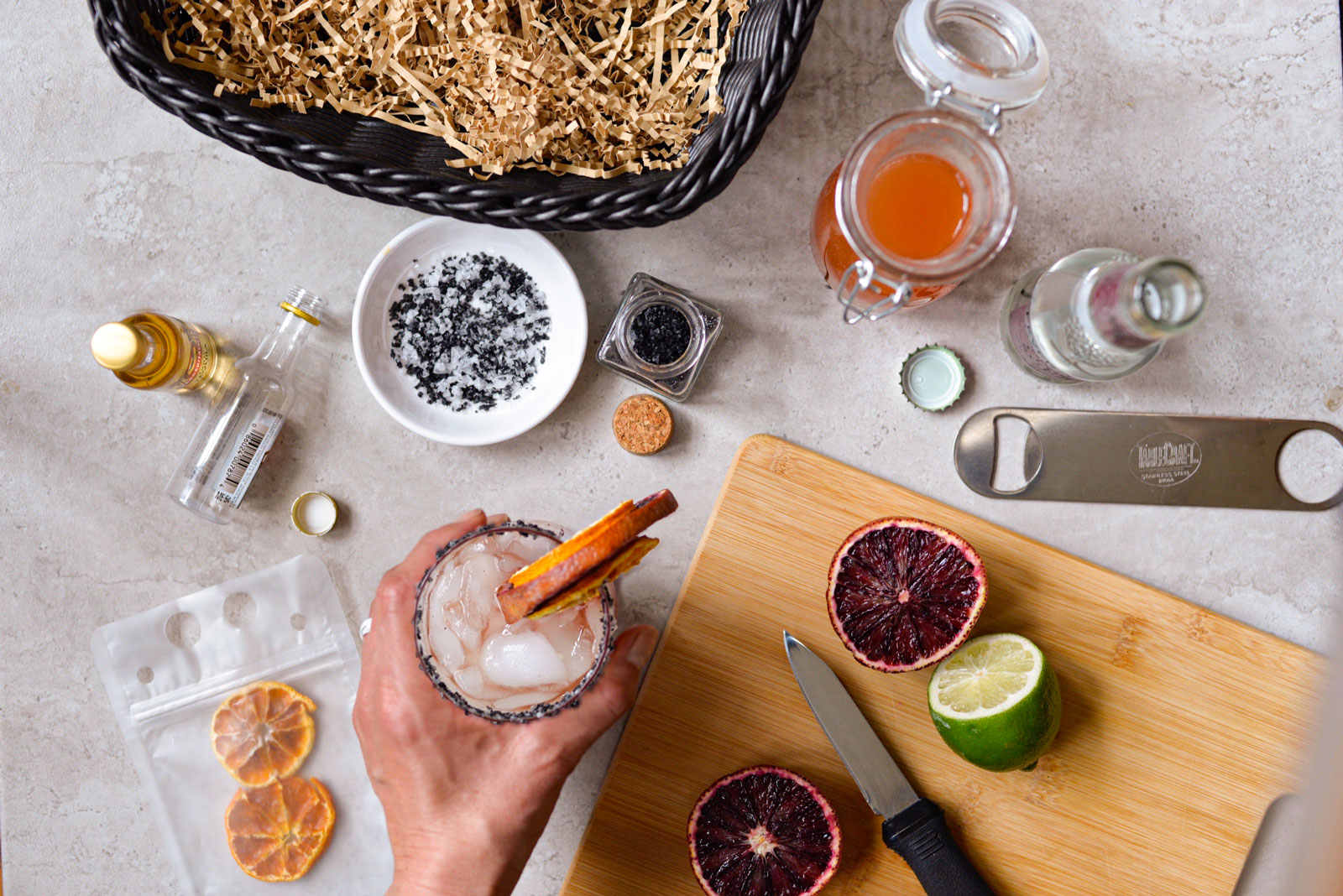 blood orange paloma cocktail from tablecraft recipe