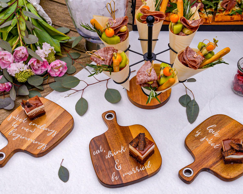wedding board table from tablecraft