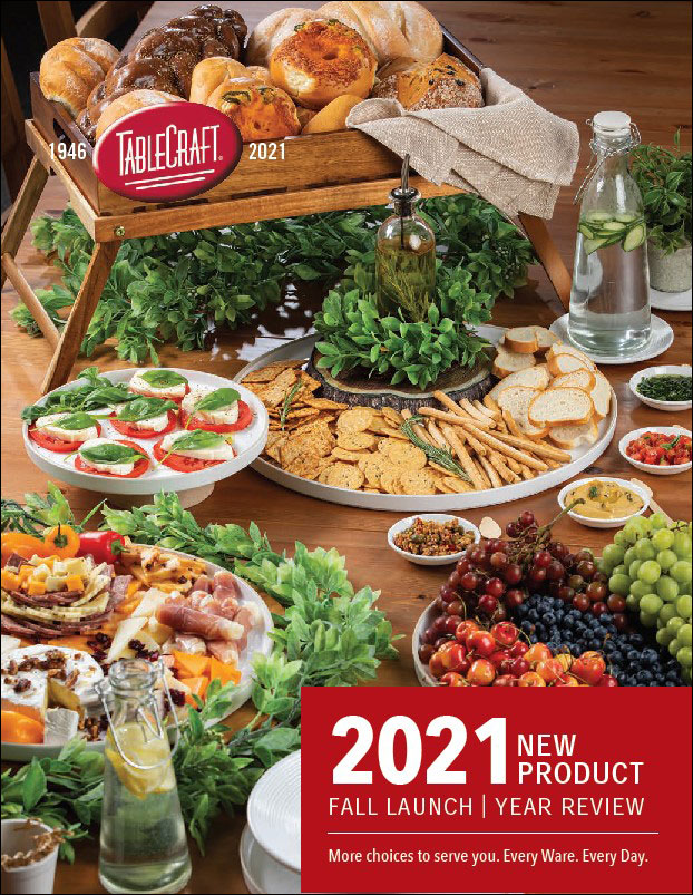 Catalog of New TableCraft Products for Fall 2021