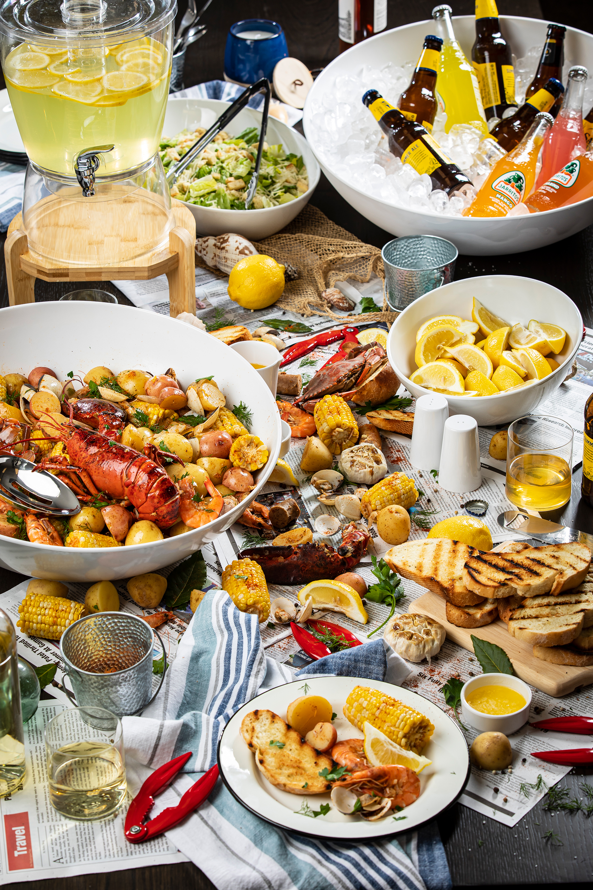 Lobster Bake with TableCraft