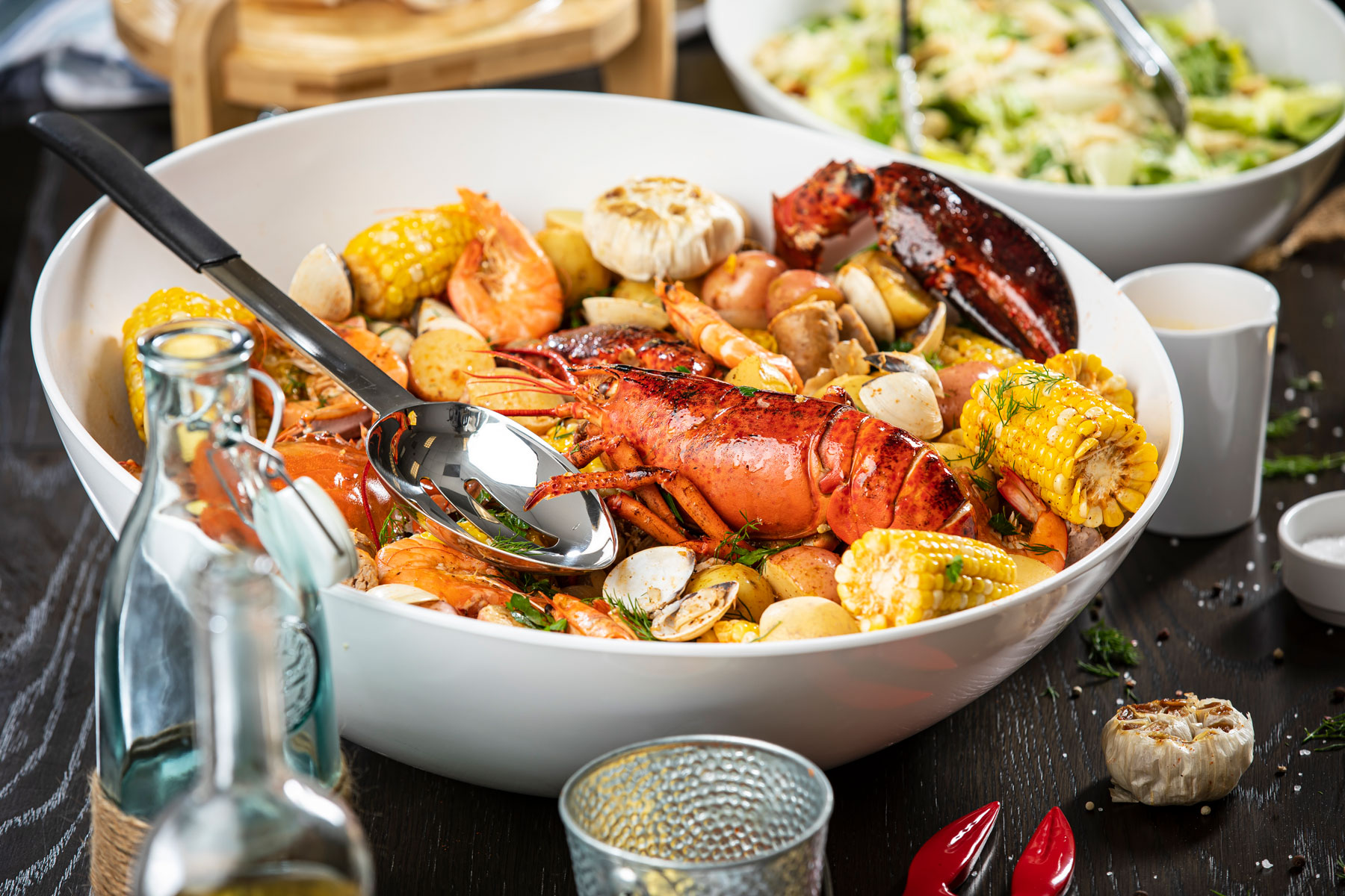 Bowl of Lobster with TableCraft Grande Bowls