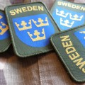 Sweden Green patch with three crowns