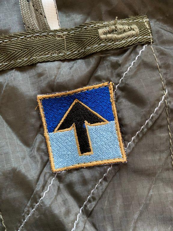 AEE Logo on a Para Silk Jacket.