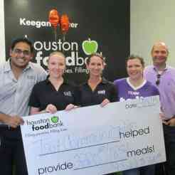 Tait at Houston Food Bank - The outcome