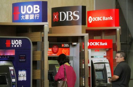 DBS OCBC UOB bank